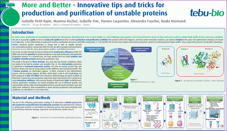 Protein expression - Capture-poster-SCBN-2018-Discover-the-More-and-Better-Innovative-tips-and-tricks-for-production-and-purification-of-unstable-proteins-ITO-tebu-bio.png