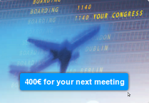 Get 400€ for your next meeting
