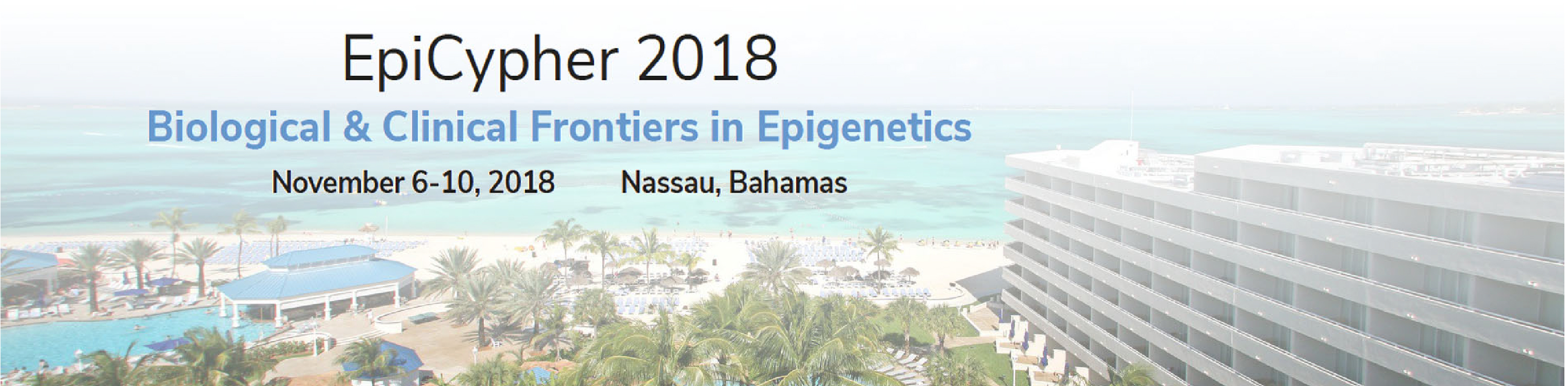 EpiCypher2018: Biological and Clinical Frontiers in Epigenetics