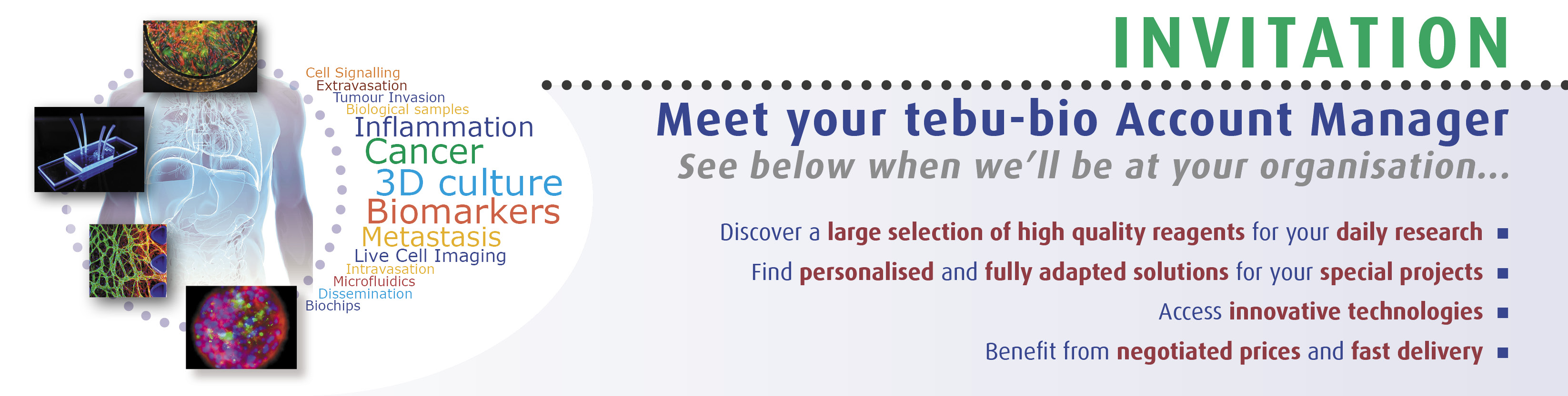 tebu-bio will be at Meet your tebu-bio Account Manager - Tytgat Institute at the AMC