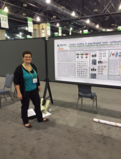 Nadia Normand of tebu-bio laboratories at the AACR 2015