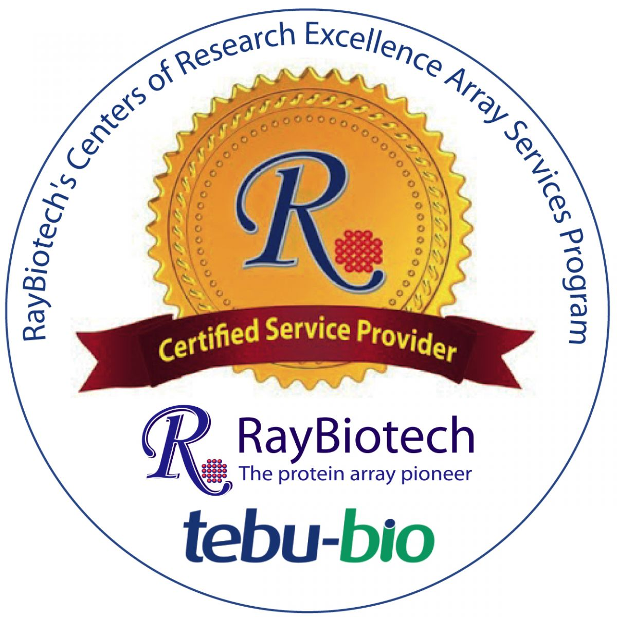RayBiotech Certified Service Provider and Research Center of Excellence